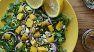 Rucola-Mango-Salat
